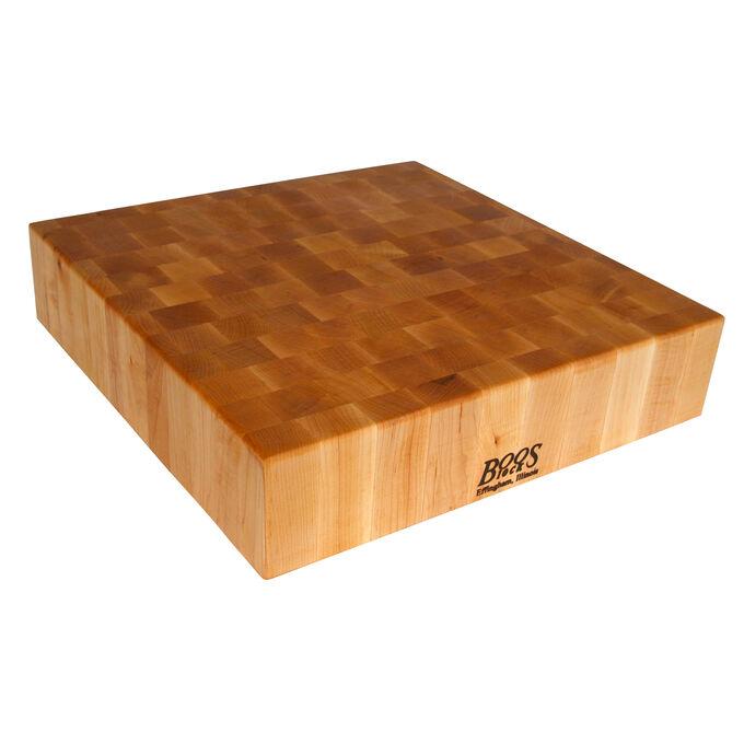 """John Boos & Co. Maple End-Grain Chopping Block, 30"""" x 30"""" x 6"""""""