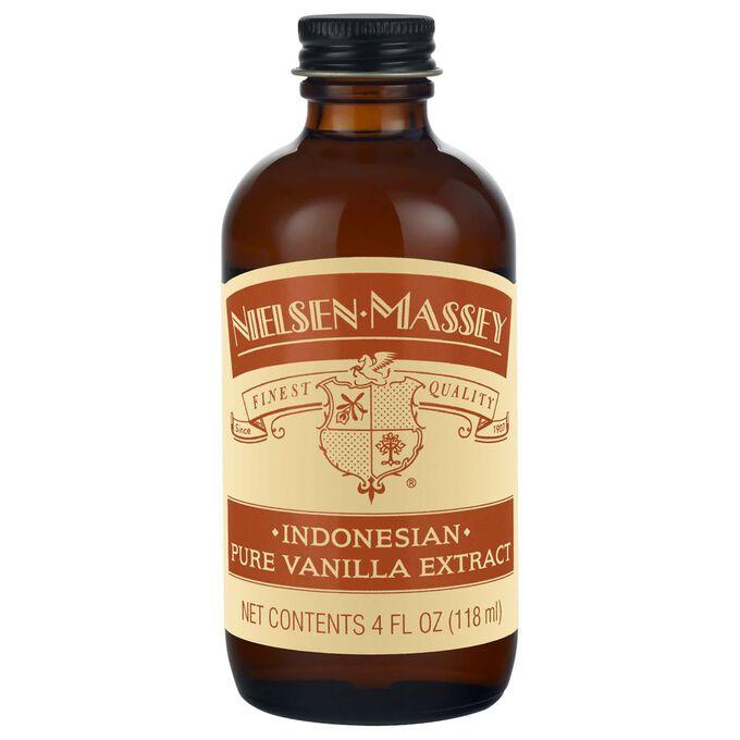 Nielsen-Massey Indonesian Pure Vanilla Extract, 4 oz.