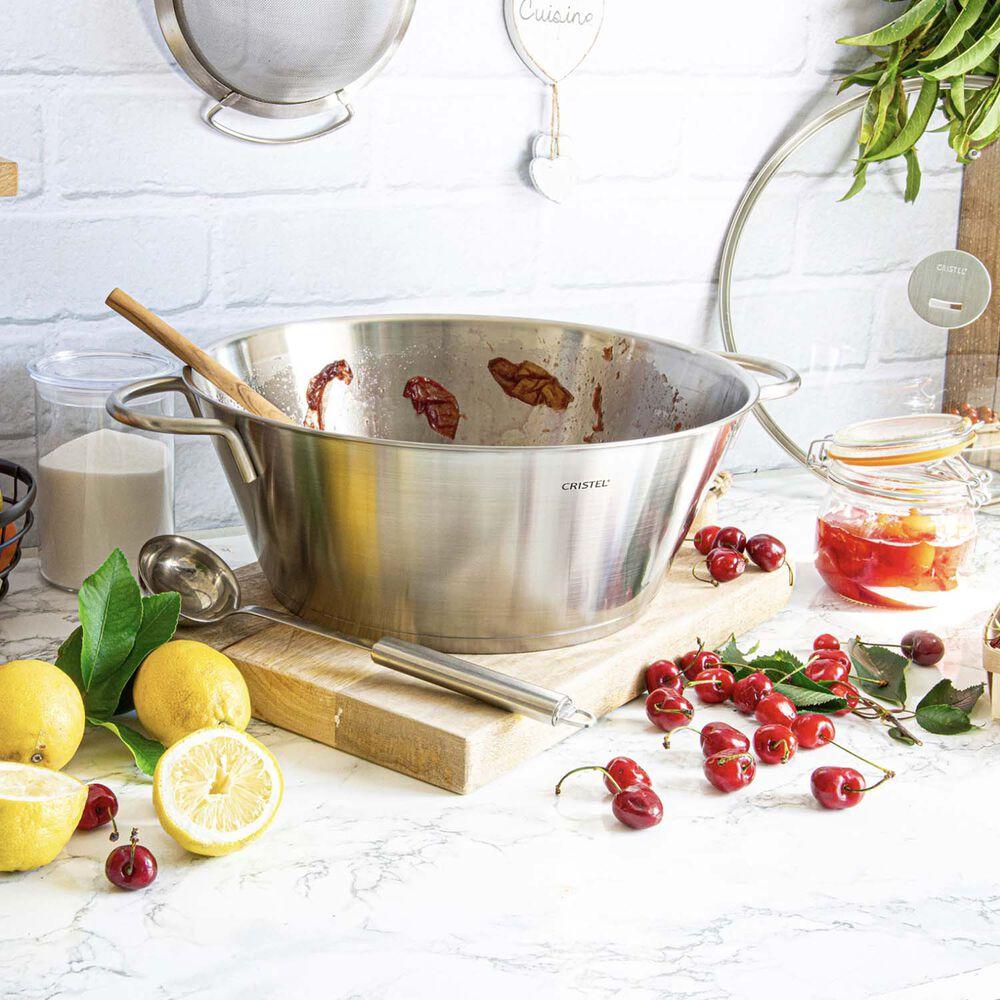 Cristel Preserve Pan with Lid, 9.5 qt.