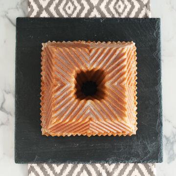 Nordic Ware Square Gold Bundt Pan, 10 cups