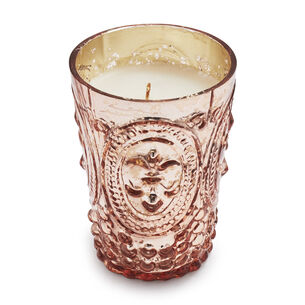 Copper Mercury Glass Candles