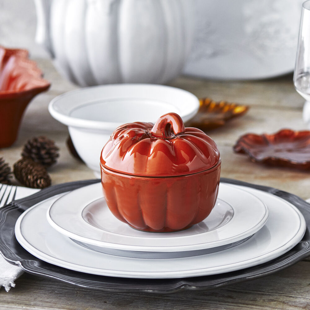 Pumpkin Bowl with Lid