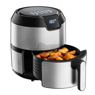Krups Stainless Steel Easy Fry Dx Digital Air Fryer, 4.4 qt.
