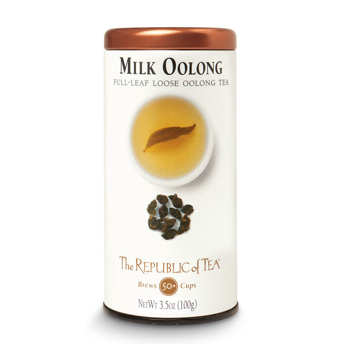 The Republic of Tea Milk Oolong Full Leaf Loose Tea