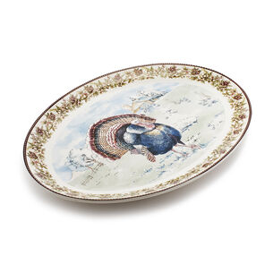 Turkey Oval Platter