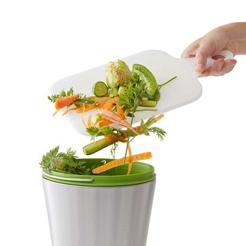 Chef'n EcoCrock Stainless Steel Compost Bin