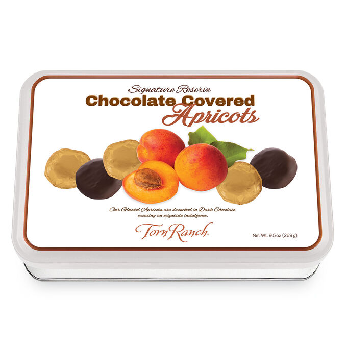 Torn Ranch Signature Reserve 6-Count Chocolate Apricot Gift Tins, Set of 2