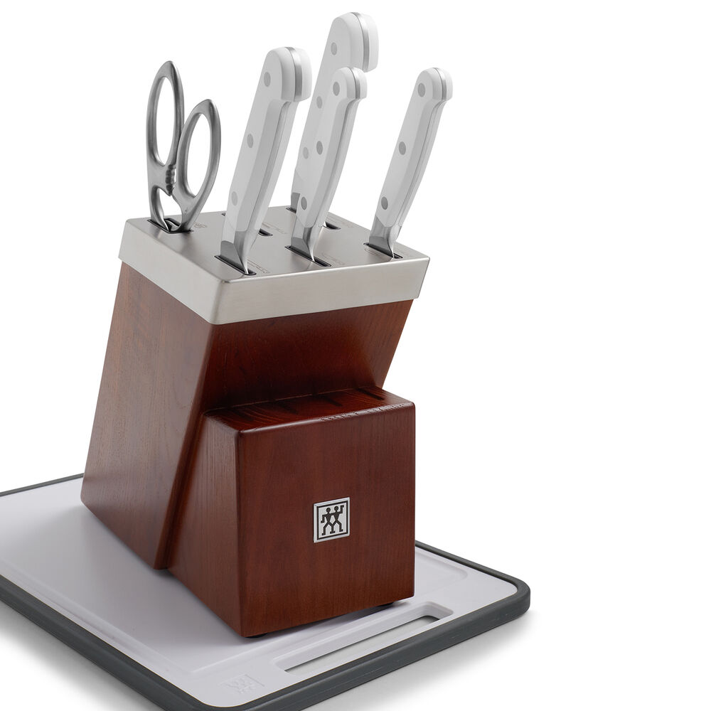 Zwilling J.A. Henckels Pro Le Blanc 7-Piece Self-Sharpening Knife Block Set