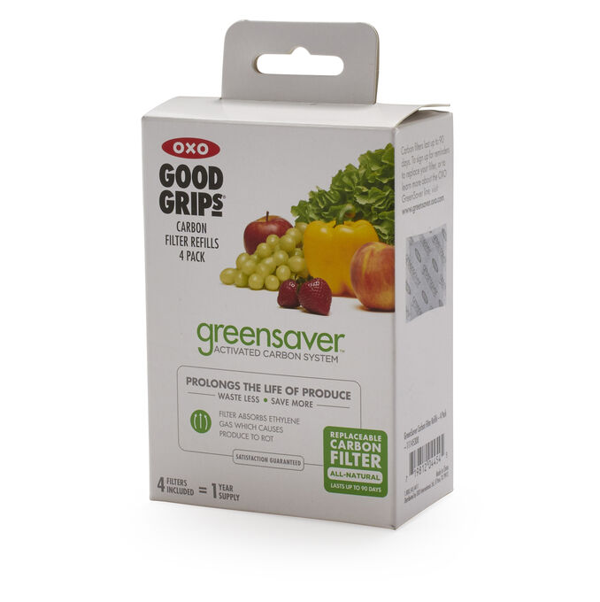OXO Greensaver Carbon Refill Pack, Set of 4