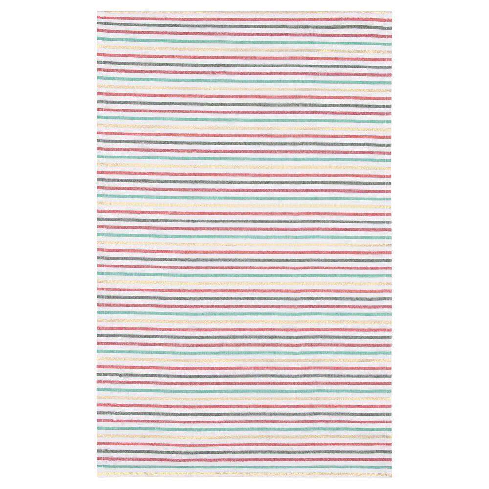 North Pole Stripe Towels, Set of 2