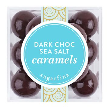 Sugarfina Dark Chocolate Sea Salt Caramels, 4.32 oz.