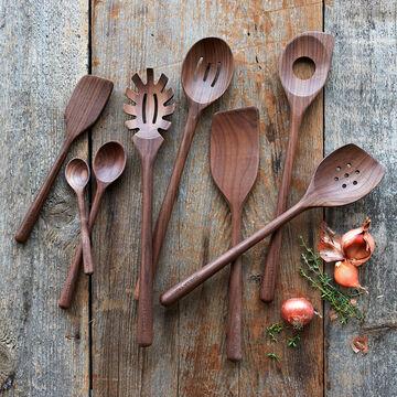 Sur La Table Walnut Sauté Spoon