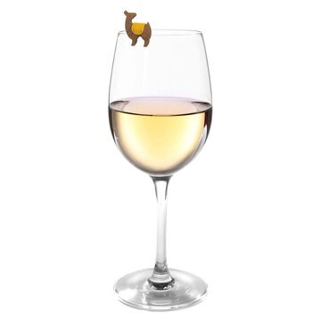 Fred Llama Wine Charms, Set of 6