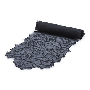 "Spider Web Table Runner, 96"" x 15"""
