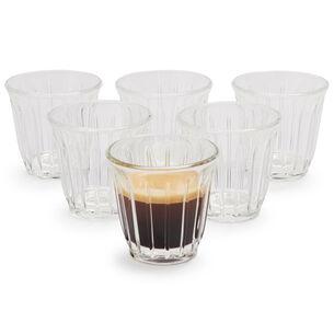 La Rochère Zinc Espresso Cups, Set of 6