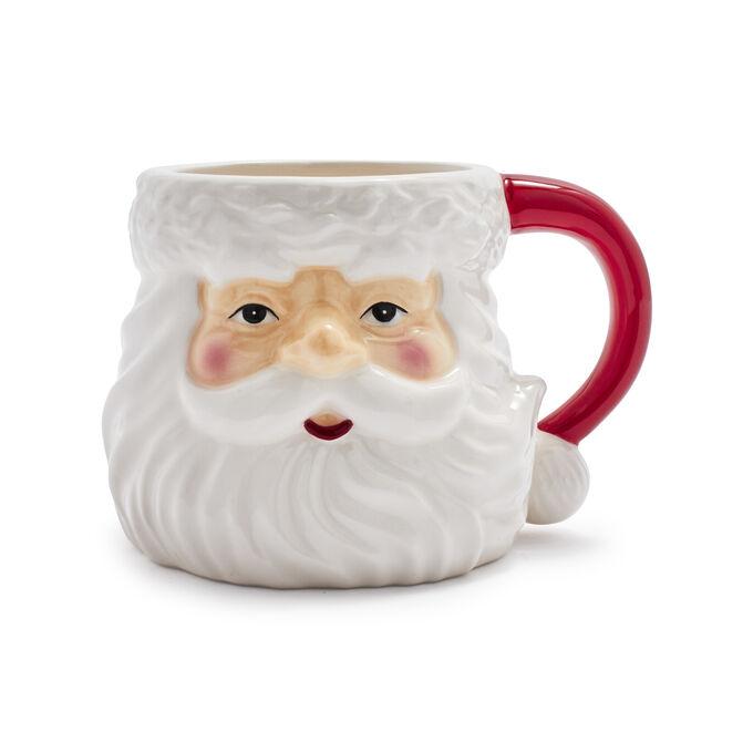 Figural Santa Mug