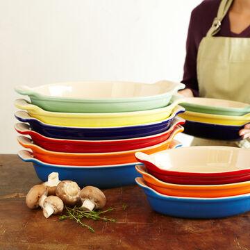 Le Creuset Heritage Indigo Au Gratin Dishes, Set of 2