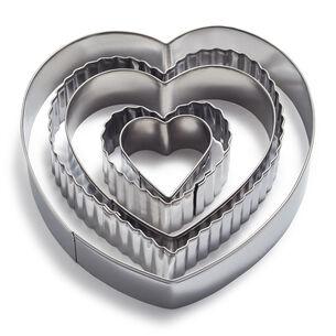 Sur La Table Heart Cookie Cutters, Set of 5