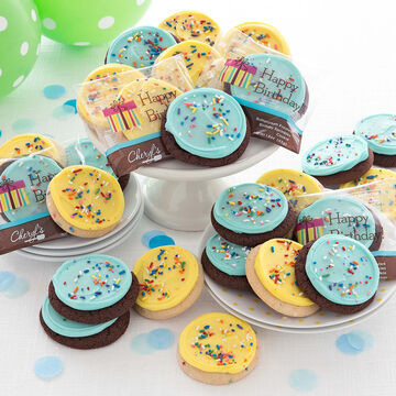Cheryl's Frosted Birthday Cake Cookies, Set of 36