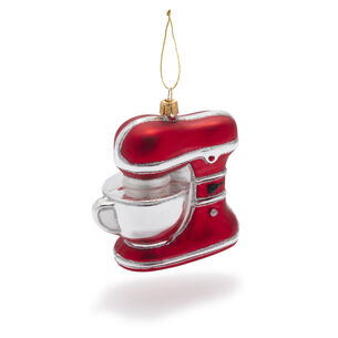 Stand Mixer Glass Ornament