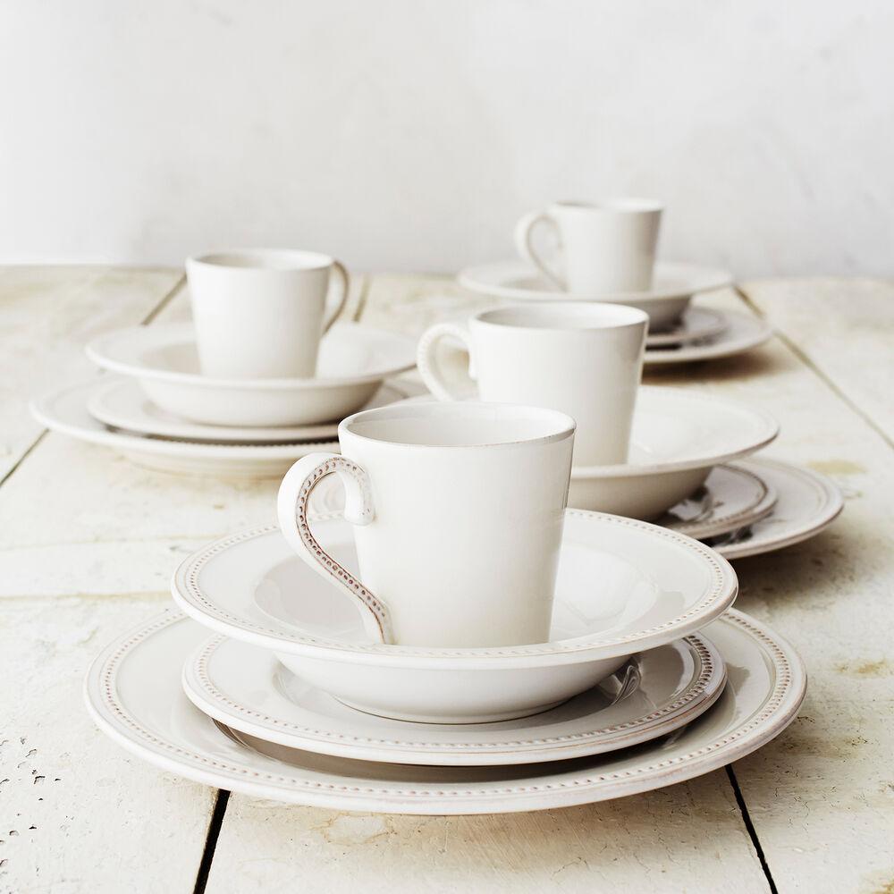 Pearl Stoneware 16-Piece Dinnerware Set