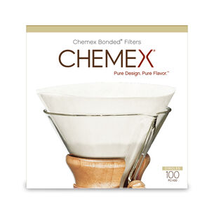 Chemex Pre-Folded Coffee Filters, Set of 100