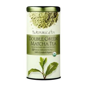 The Republic of Tea Double Green Matcha Tea, 50 Bags