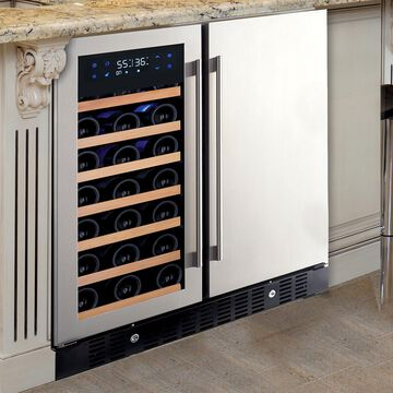 Wine Enthusiast N'FINITY PRO HDX Wine and Beverage Center, 32 Bottle
