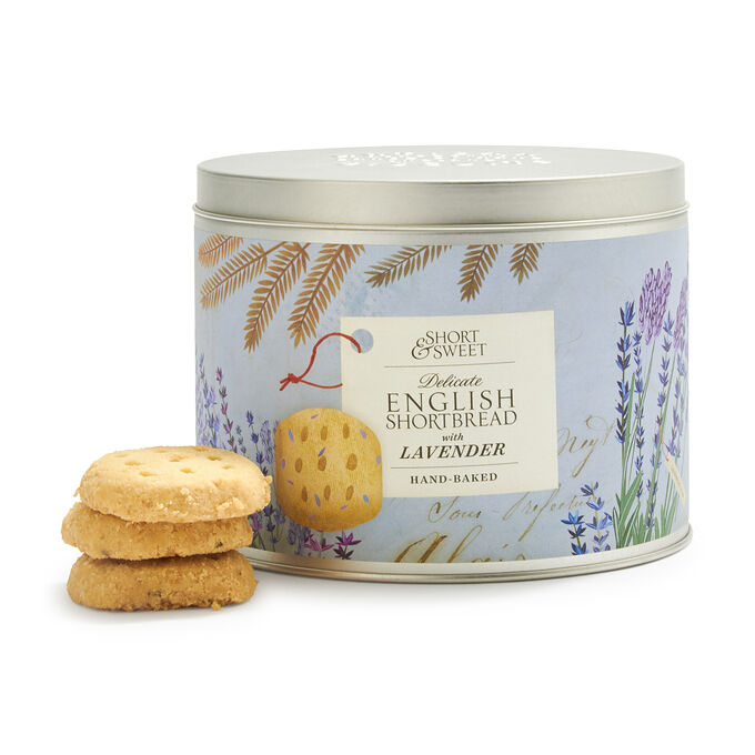 Artisan Biscuits Short & Sweet English Shortbread with Lavender, 6.7 oz.