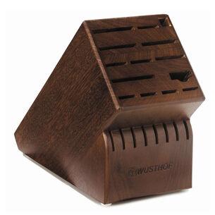 Wüsthof 22-Slot Walnut Knife Block