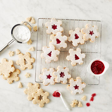 Holiday Linzer Cookie Cutters