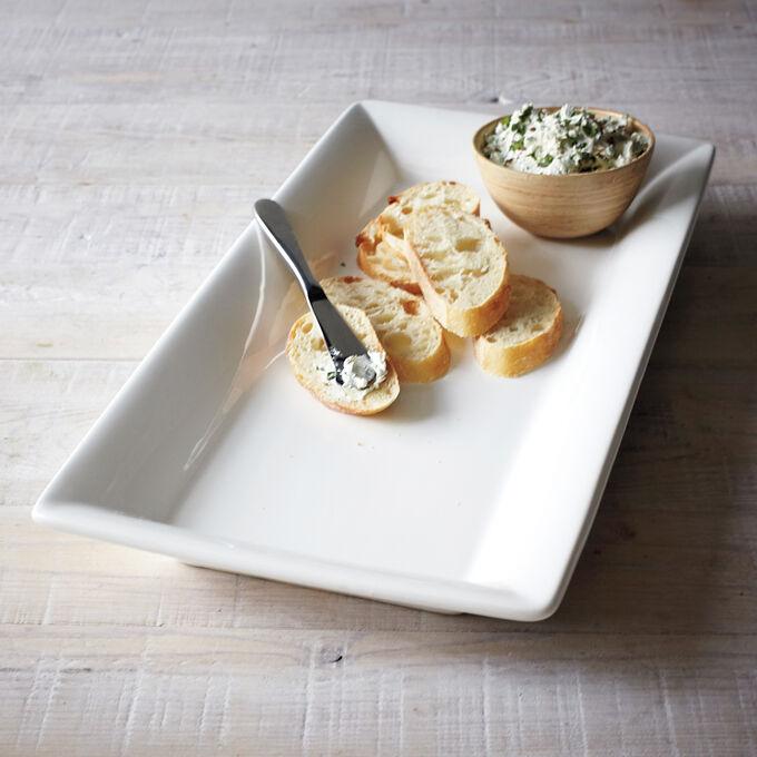 Italian Whiteware Rectangular Serving Platters