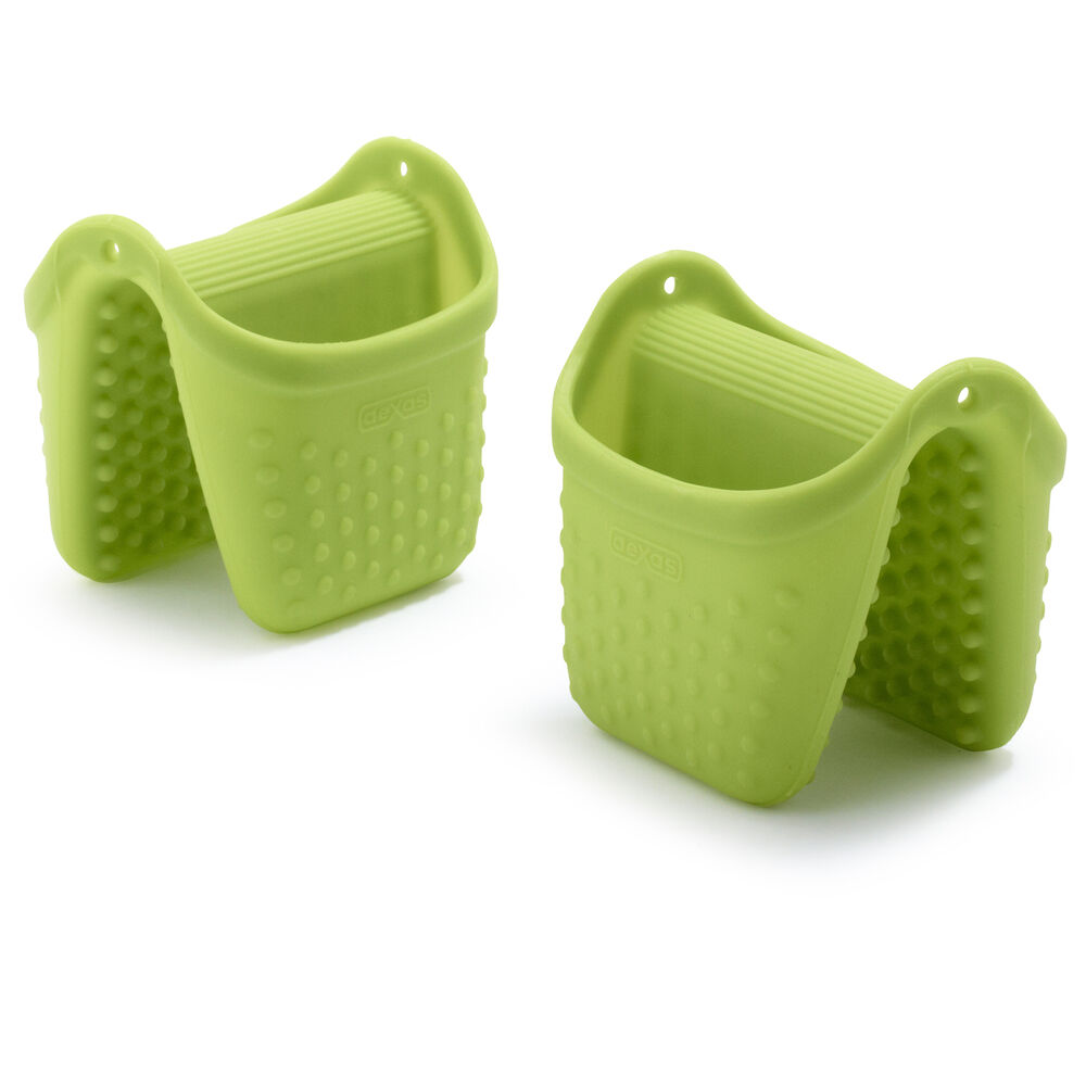 Dexas Silicone Pinch Mitts, Set of 2