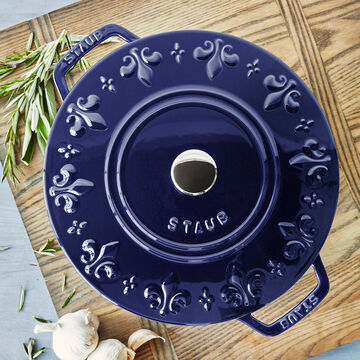 Staub Fleur-de-Lis Oven, 3.75 qt.