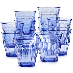 Duralex Blue Picardie Tumblers, Set of 6
