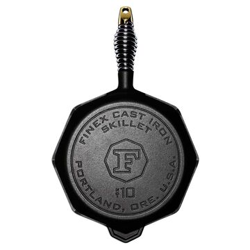 FINEX Cast Iron Skillet with Lid