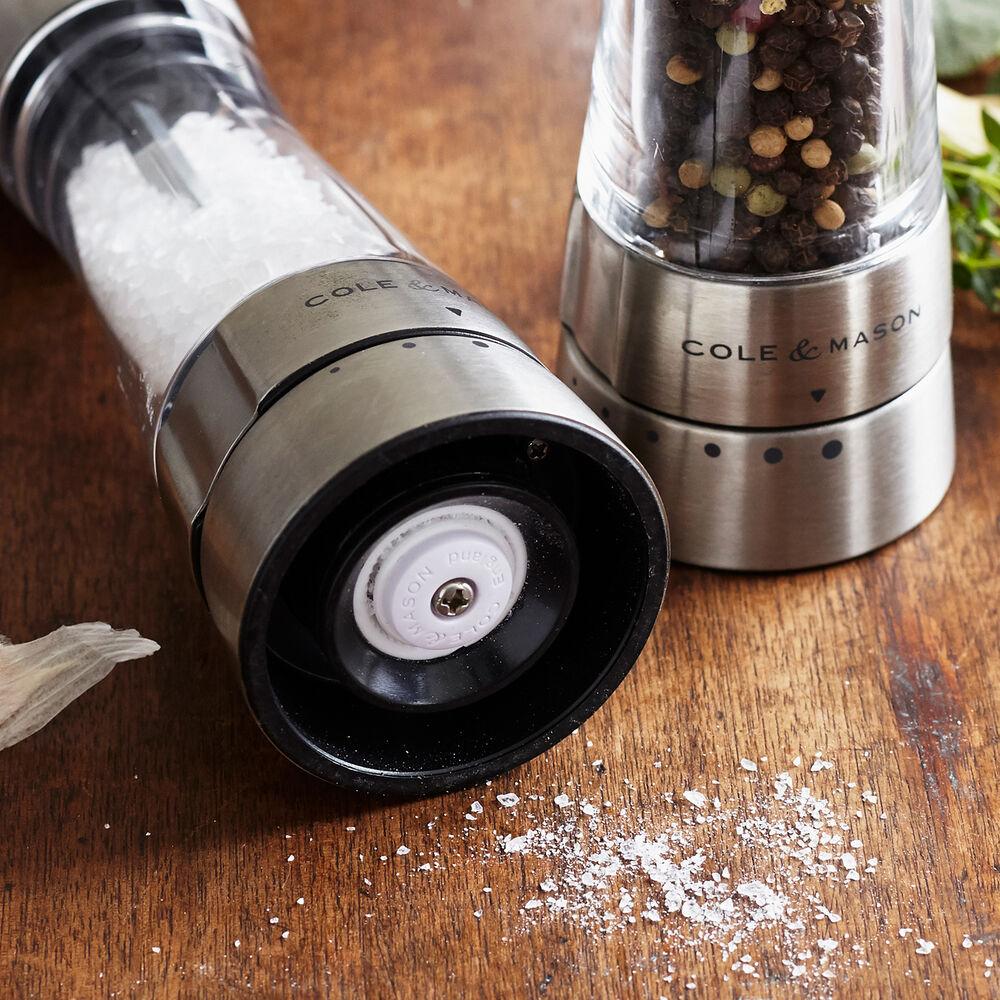 Cole & Mason Derwent Salt & Pepper Mills, Stainless Steel