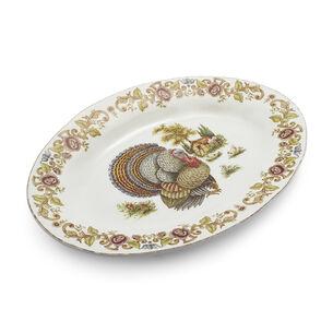 Italian Turkey Oval Platter