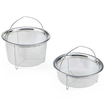 Instant Pot Mesh Steamer Baskets, Set of 2