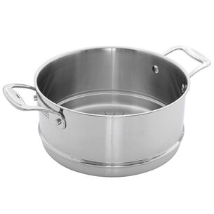 Zwilling Clad CFX Stainless Steel Steamer Insert, 6 qt.