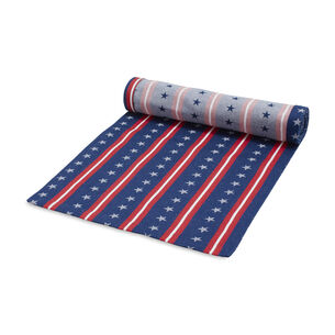 Stars & Stripes Jacquard Runner