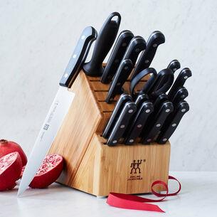 Zwilling J.A. Henckels Twin Gourmet 18-Piece Knife Block Set