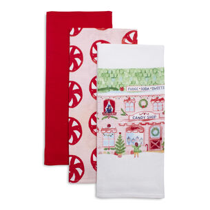 Flour Sack Kitchen Towels, Set of 3