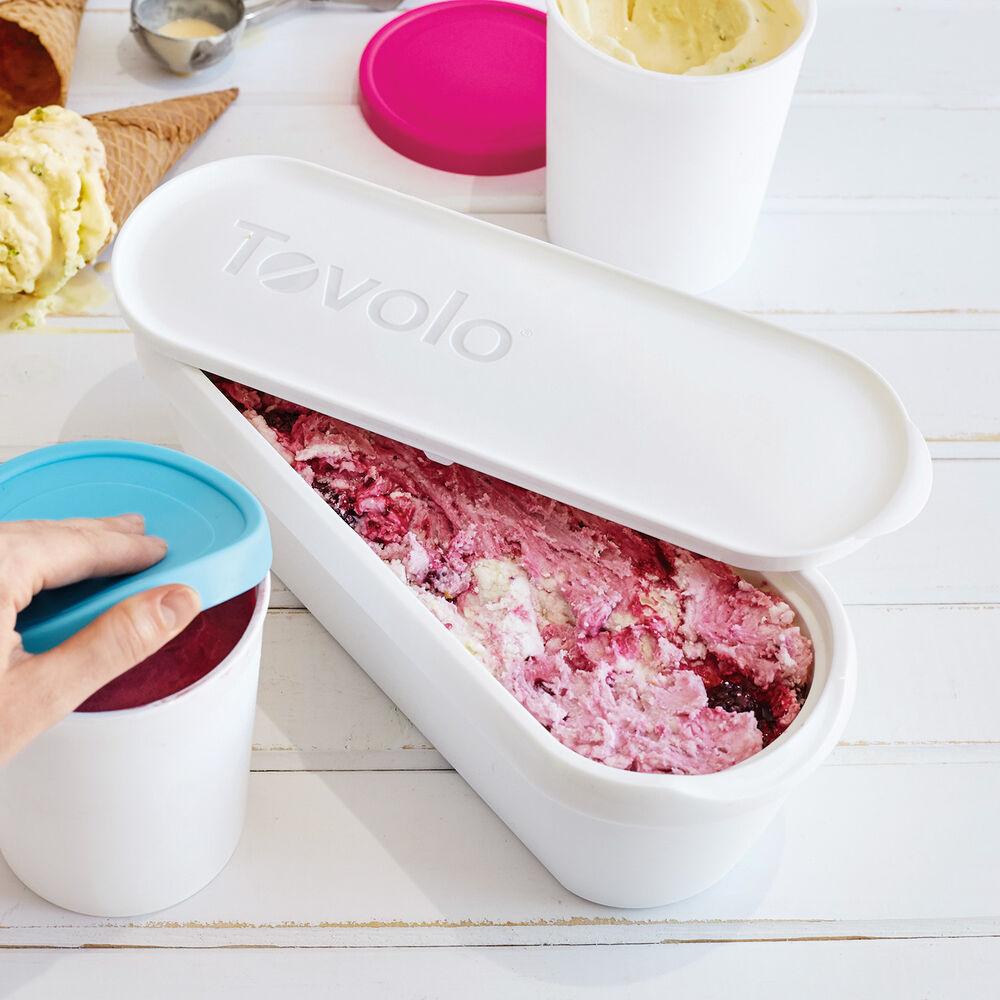 Tovolo Glide-a-Scoop Ice Cream Container, 2.5 qt.