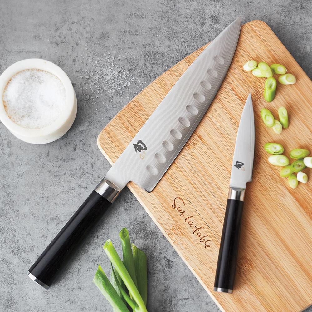 "Shun Classic Hollow-Edge Chef's Knife, 8"""