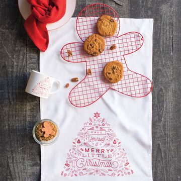 Merry Little Christmas Kitchen Towels, Set of 2