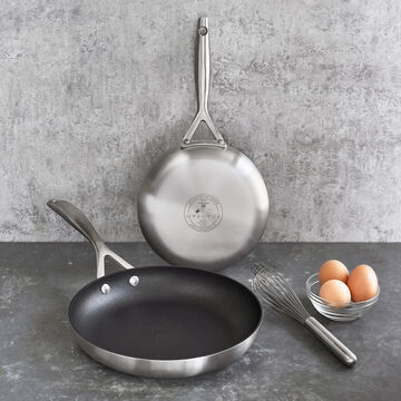 "Scanpan CS+ 8"" & 10.25"" Skillets, Set of 2"