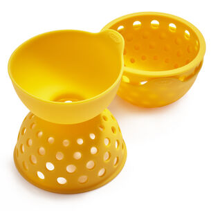 OXO Good Grips Silicone Egg Poacher, Set of 2