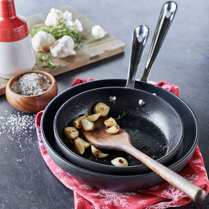 "All-Clad HA1 Nonstick Skillets, 8"" and 10"" Set"