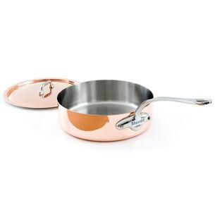 Mauviel M'héritage 150s Copper & Stainless Steel Sauté Pan